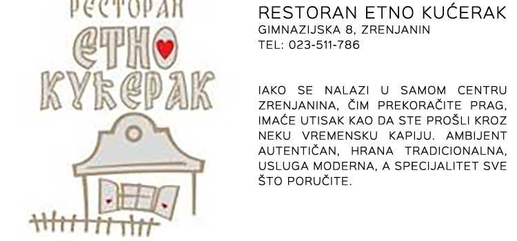 Restoran Etno Kućerak